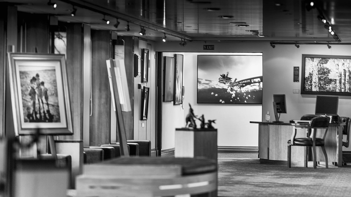 Exposition du photographe de mer Ewan Lebourdais - Queen Mary 2