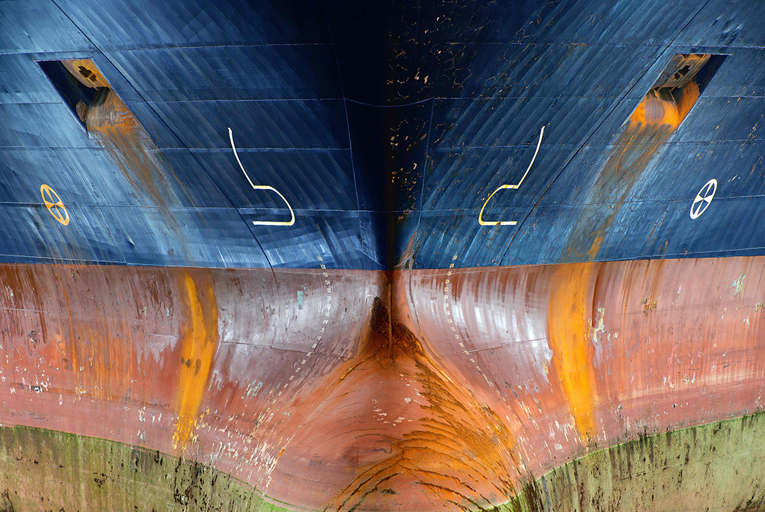 Photographie bateau cargo