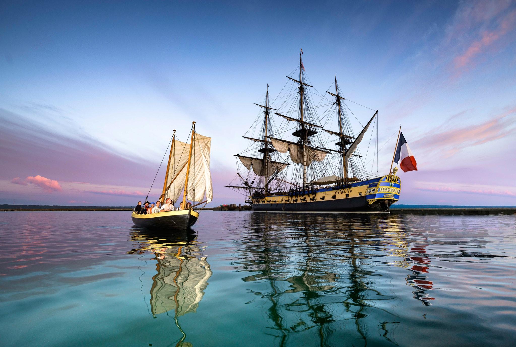 Photographies de bateaux en mer
