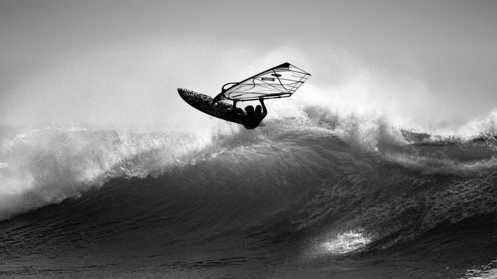 Photographie windsurf De Folie