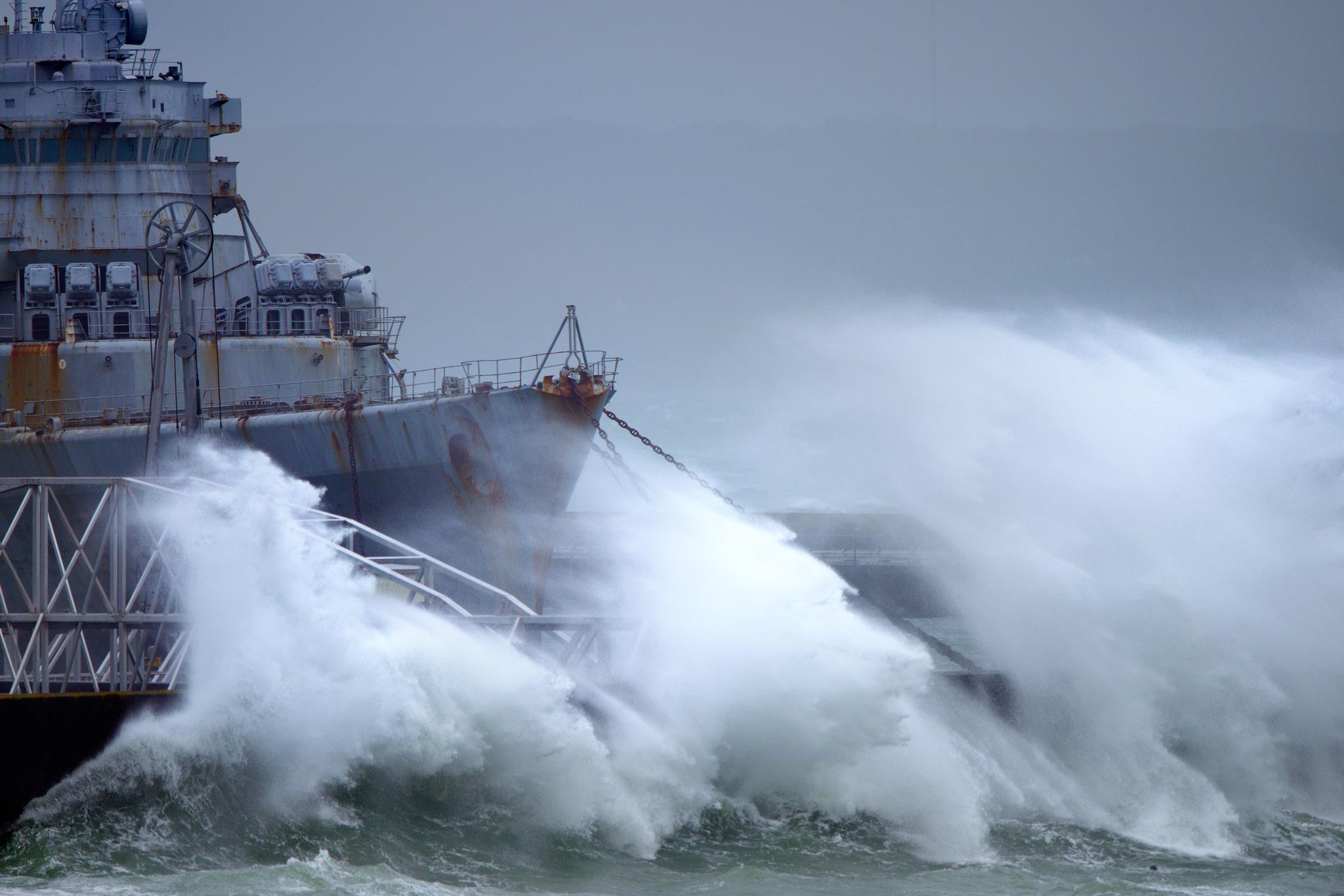 Photographie bateau Jeanne d'Arc à Brest