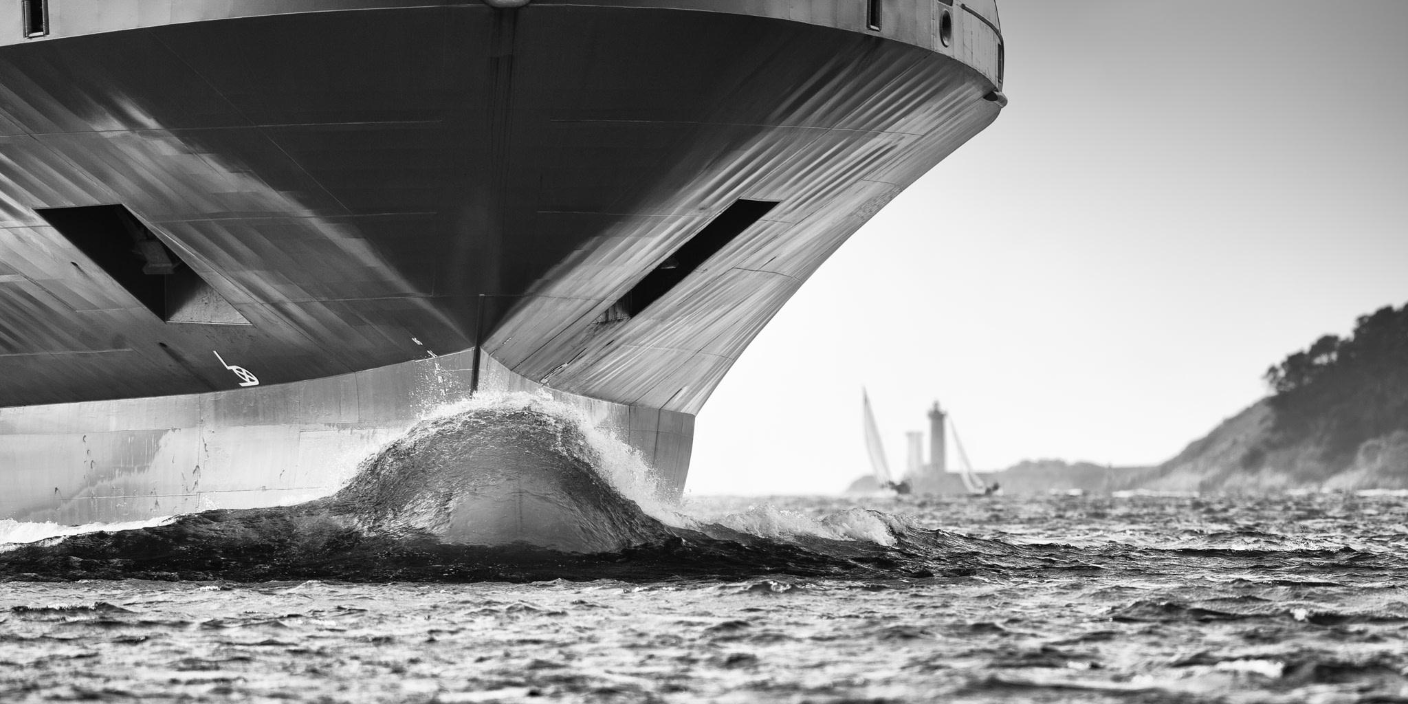 Photographie bateau à Brest ND54308