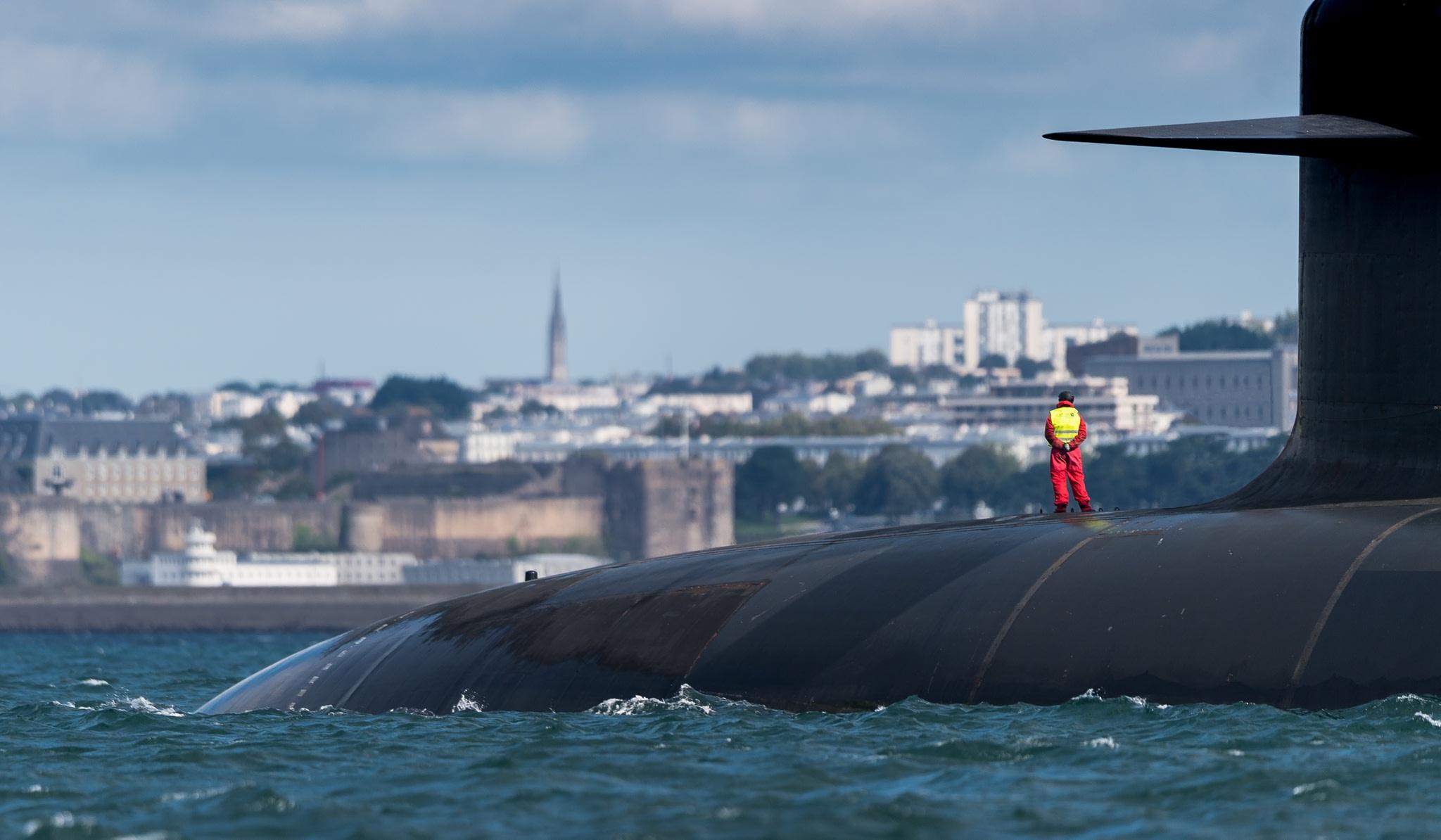 Photographie sous-marin à Brest ND56611