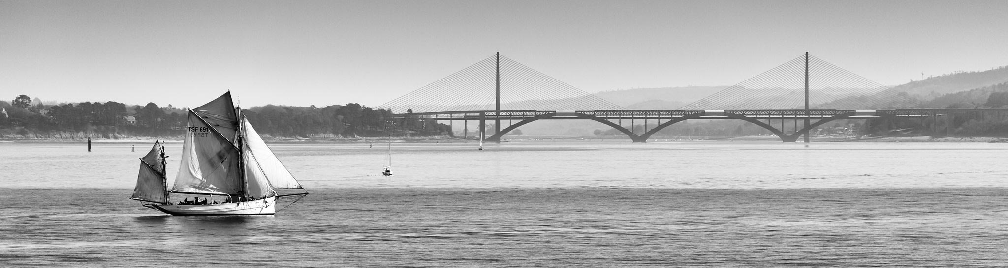 Photographie marine Brest Rade et marine et pont