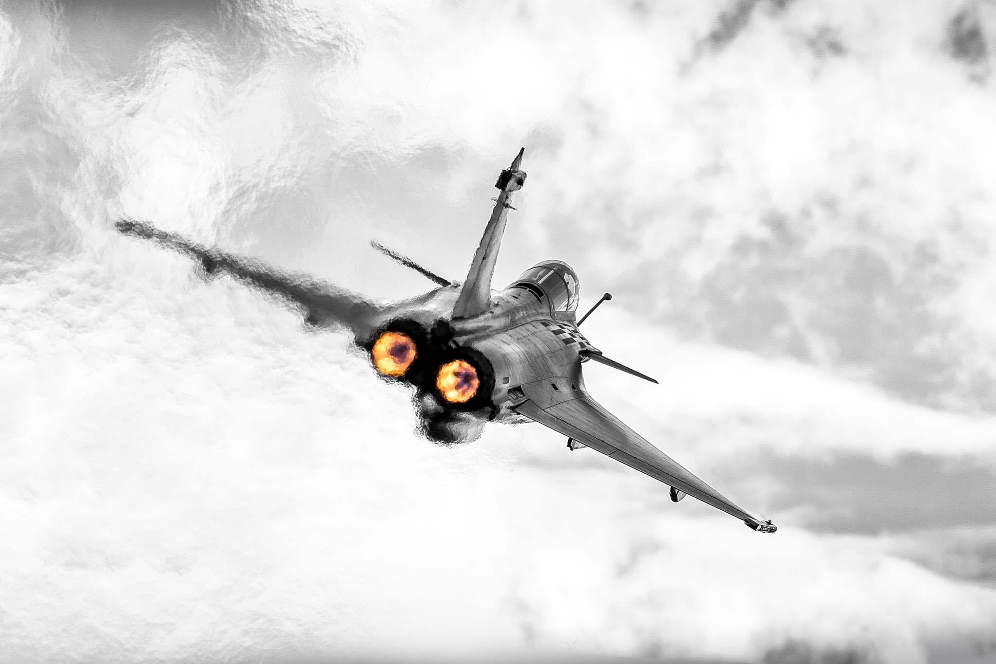 Photographie avion rafale